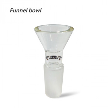 Glass Bowl 14mm Male Joint Funnel Glass Bowl
