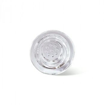 Glass Bowl 18mm Glass Bowl Replacement for Ice spoon pipe, Shark handpipe, Didi Dry Pipe, Silicone Glass Bowls